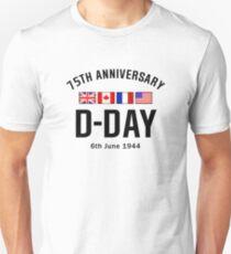 Camiseta ajustada Aniversario del día D