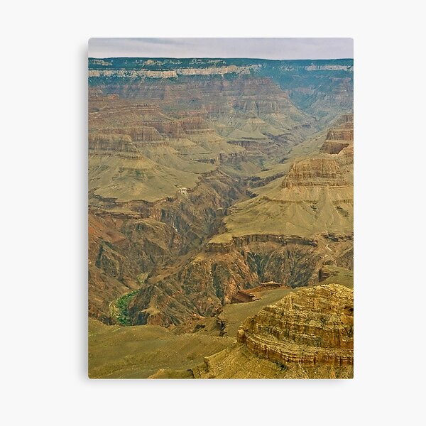The Grand Canyon Series  - 2 Down in the Valley Canvas Print