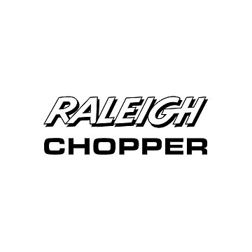 Raleigh Chopper old style logo (as seen above the rear reflector) by unloveablesteve