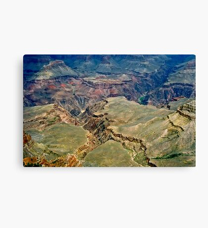 The Grand Canyon Series  - 5 Belly of the Beast Canvas Print