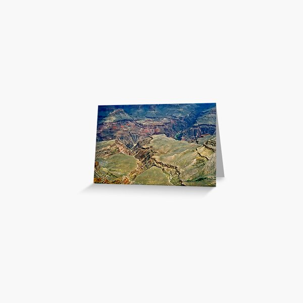 The Grand Canyon Series  - 5 Belly of the Beast Greeting Card