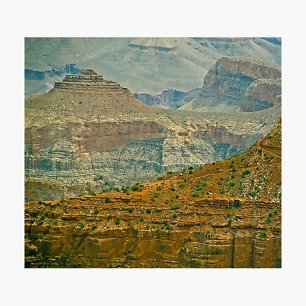 The Grand Canyon Series  - 7 Lil' House on the Canyon Photographic Print