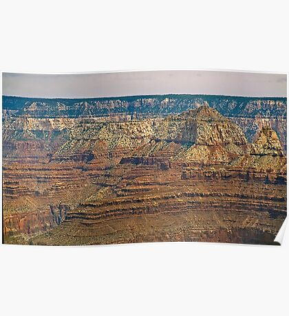 The Grand Canyon Series  - 9 Canyon Walls Poster