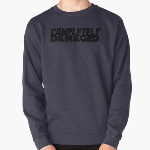 Completely Damaged Pullover Sweatshirt