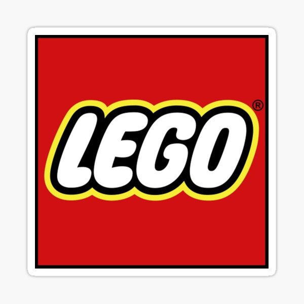 Logo Lego Toy - Lego Toys Sticker