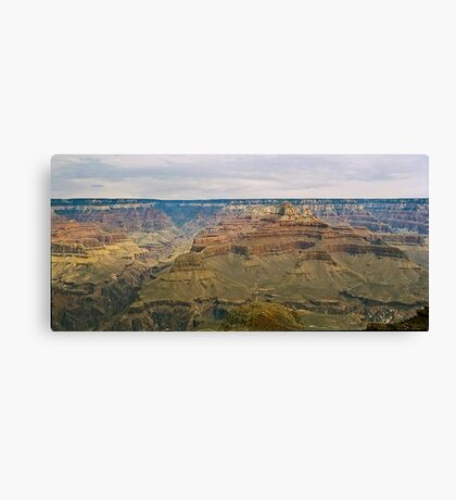 The Grand Canyon Series  - 12 Into The Canyon Canvas Print