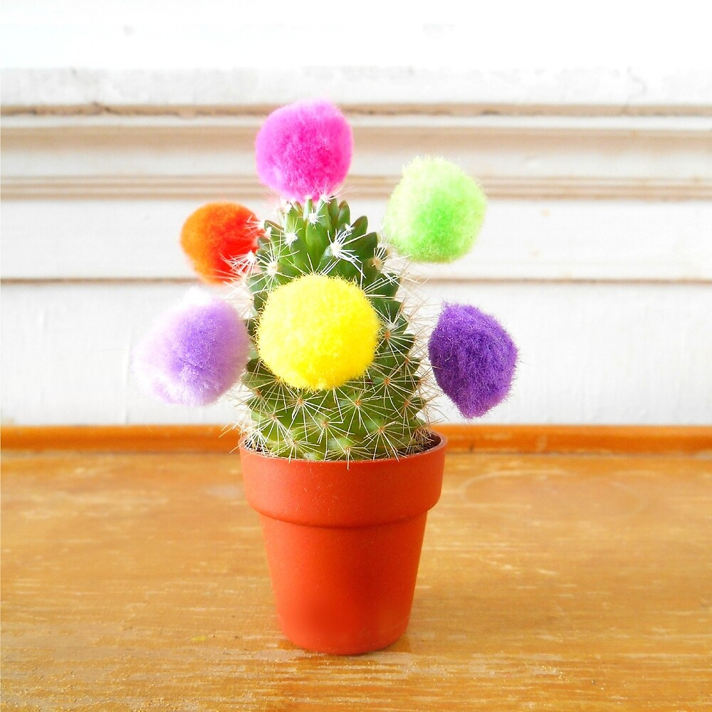 Pompom Cactus by hipaholic