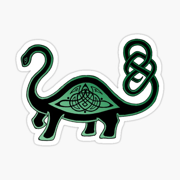 Dinosaur Dance Sticker