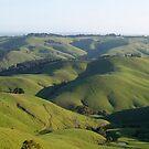 landscapes #18, shadowed folds by stickelsimages
