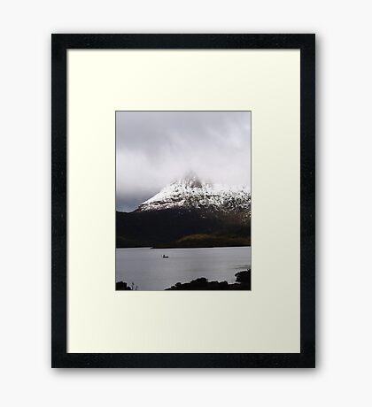 landscapes #52, shining lightly  Framed Print