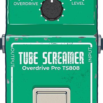 Tube Screamer Gitarrenpedal von WASABISQUID
