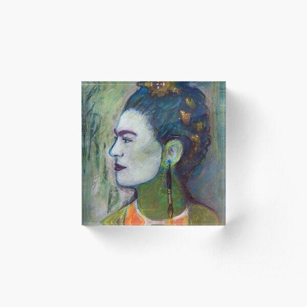 Frida K. Acrylic Block