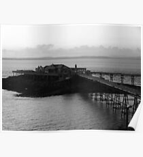 The Old Pier at weston super mare Poster