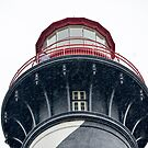St. Augustine Lighthouse in the rain by Jeanie93