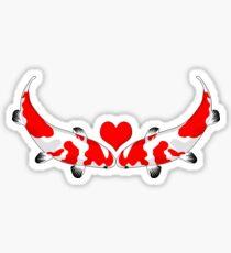 Koi Kisses Sticker