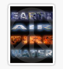 Earth Elements Sticker