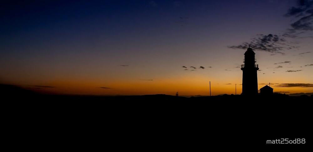 Lighthouse Sunset by matt25od88