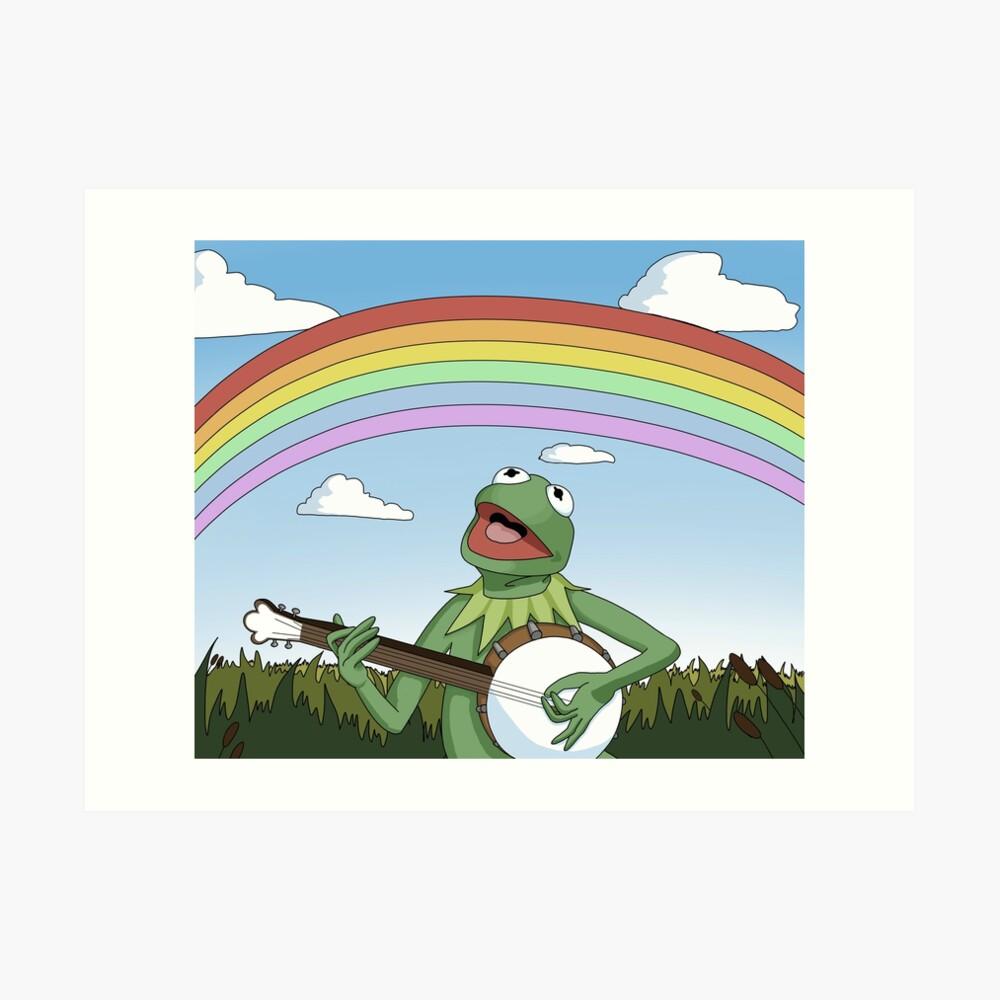 Kermit der Frosch Kunstdruck