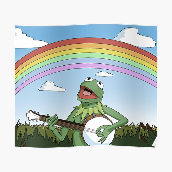 Wholesome Kermit The Frog  Poster