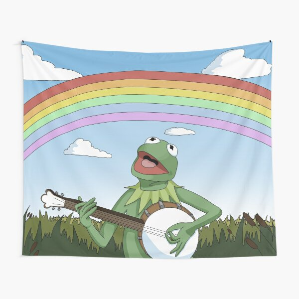 Wholesome Kermit The Frog  Tapestry