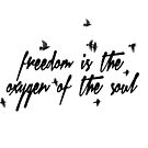 «Espíritu libre» de croppedcharcoal
