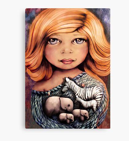 Jungle Heart Canvas Print