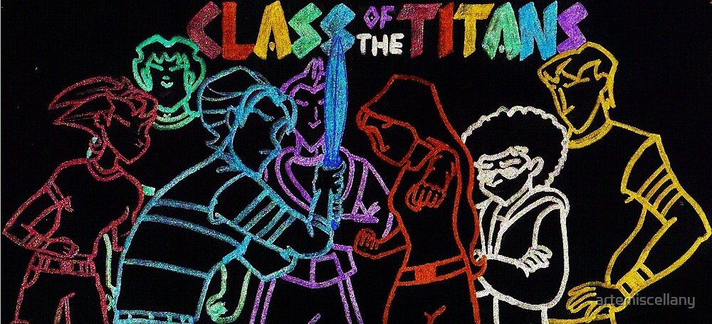Class of the Titans by artemiscellany