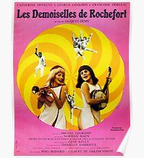 Les Demoiselles de Rochefort - Französisch New Wave Film mit Catherine Deneuve Poster