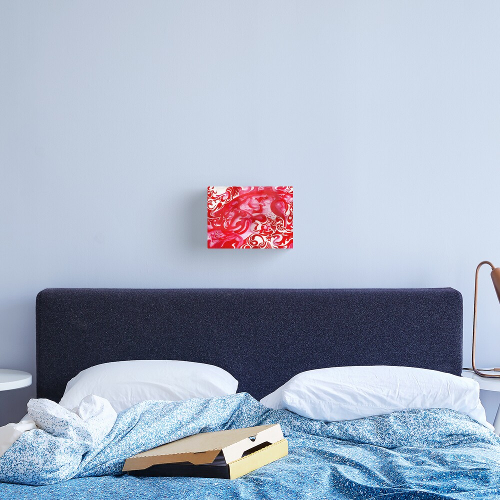 Untitled Red Painting Canvas Print