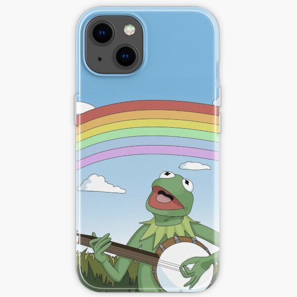 Wholesome Kermit the Frog Phone Case iPhone Soft Case