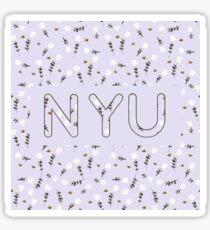 Pegatina NYU Purple