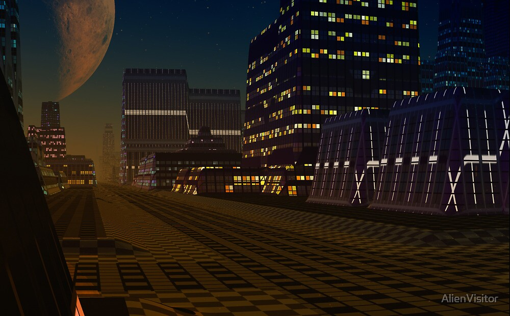 Forever Night by AlienVisitor
