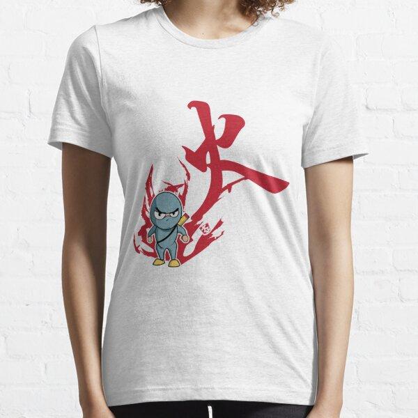 Hwa . control thyself . Ninja Confront Essential T-Shirt
