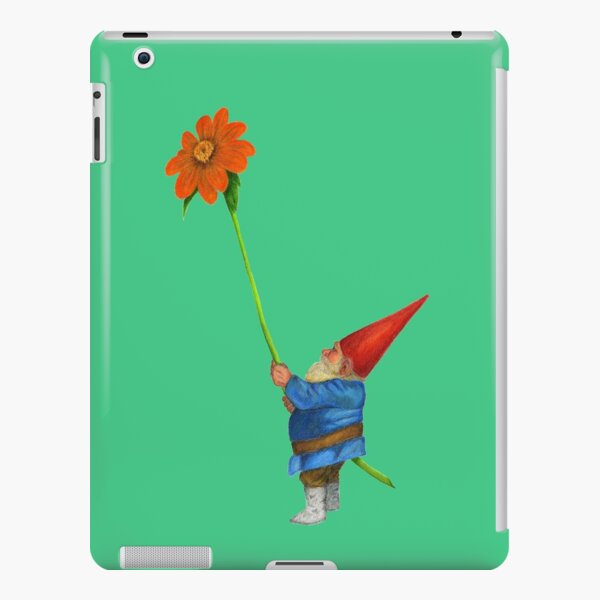 Gnome with Mexican Sunflower iPad Snap Case