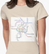 Vienna Metro Women's Fitted T-Shirt