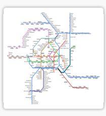 Vienna Metro Sticker