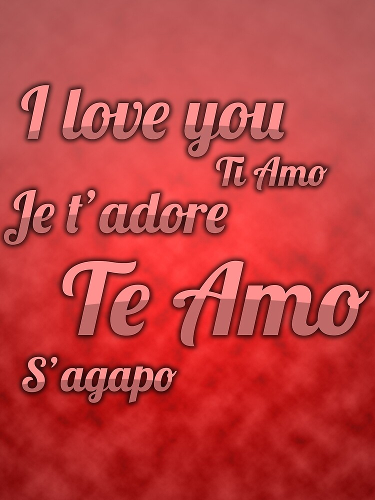 Te Amo by Ainsleygraham