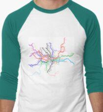 London Metro Men's Baseball ¾ T-Shirt