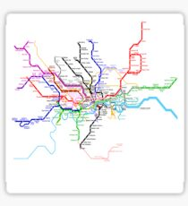 London Metro Sticker