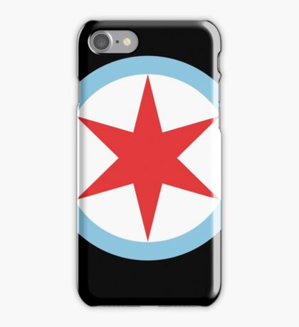Captain Chicago (Clean) iPhone Case/Skin