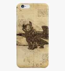 Toothless, Da Vinci style iPhone 6s Case