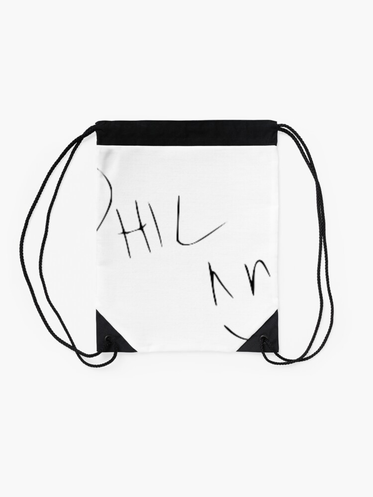 Alternate view of Phil Lester Autograph Drawstring Bag