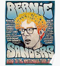 Feel The Bern 2020 Oldskool Poster Poster