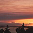 Smoky Sunset by KateMcCSeattle