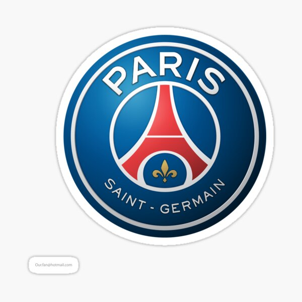 PSG- Paris St Germain Sticker