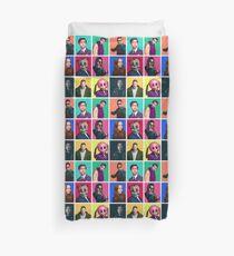 Funda nórdica La Academia del paraguas - Collage de personajes