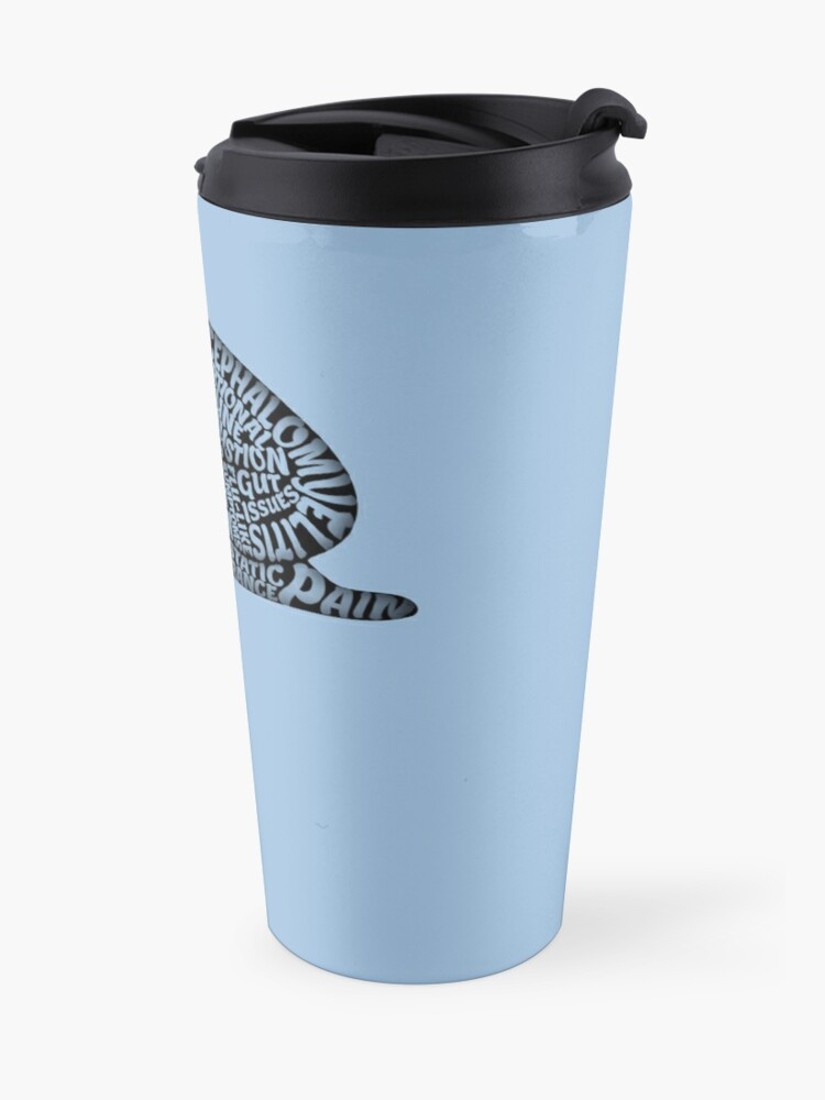 Alternate view of The Misery of ME by Jill Thompson Travel Mug