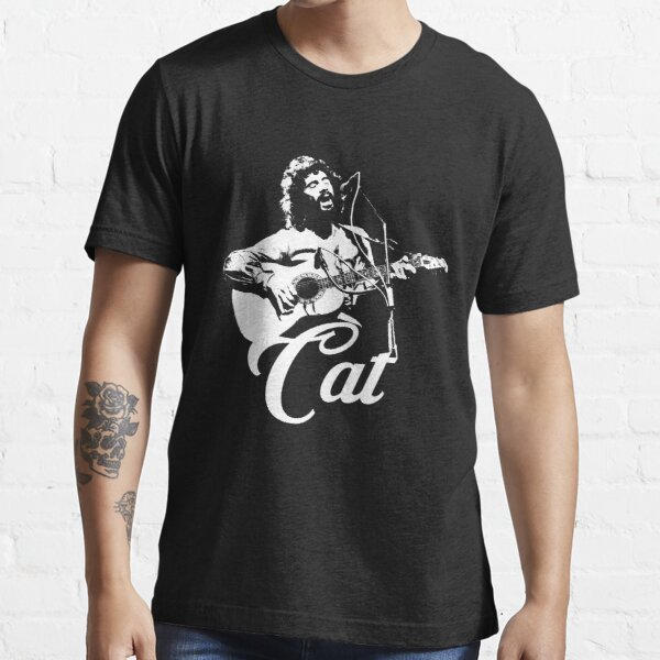 Cat Stevens - White Stencil Essential T-Shirt
