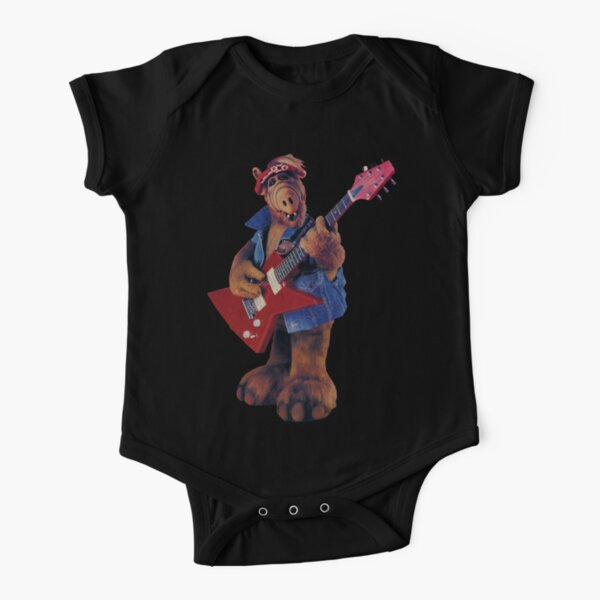 ALF YEAH Short Sleeve Baby One-Piece