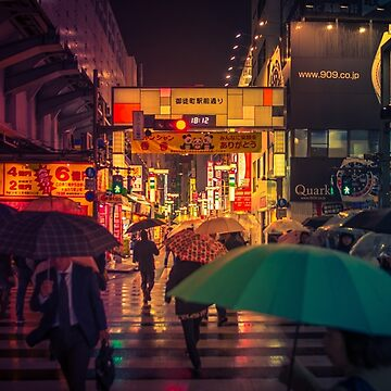 Rain on the Golden City by TokyoLuv